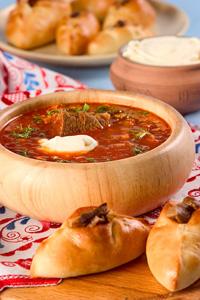 Национальной кухни русские щи